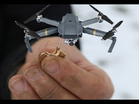 DJI MAVIC PRO! Found an Amazing Gold Ring Metal Detecting