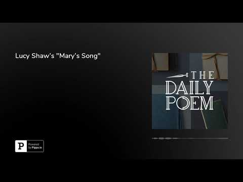 "Lucy Shaw's ""Mary's Song"""