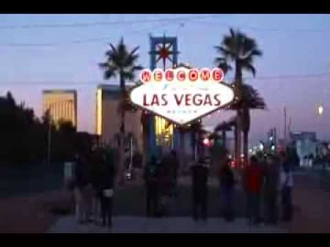 LAS VEGAS SIGN GOES SOLAR (At Dusk)