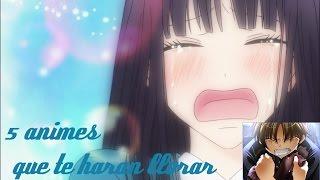5 animes que te haran llorar las mas tristes del mundo