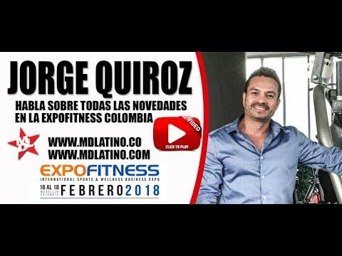 Jorge Quiroz Habla Sobre Las Novedades de ExpoFitness Colombia