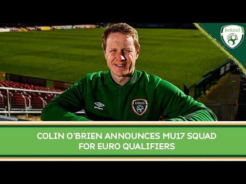 INTERVIEW | Ireland MU17 Head Coach looks ahead to qualifiers