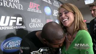 Repeat youtube video UFC 130's Rampage Jackson on Revenge Fights, His Black Fans + Motorboating