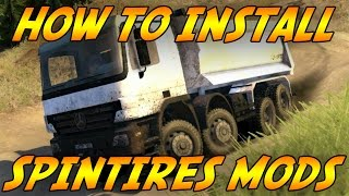 SpinTires : How To Install Mods - Full Walkthrough / VoiceTutorial