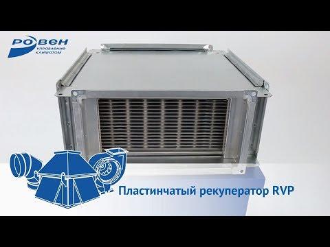 Пластинчатый рекуператор RVP
