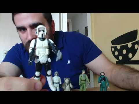 Heti videó: 19# Vintage Star Wars figurák részletesen 12.rész - Endor II.