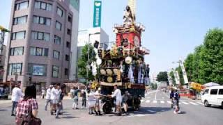 熊谷うちわ祭(2010年7月22日撮影) http://suriganenohibiki.we...