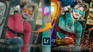 Picsart movie poster editing Smart Boy Easy movie poster manipulation mobile Lightroom Editing