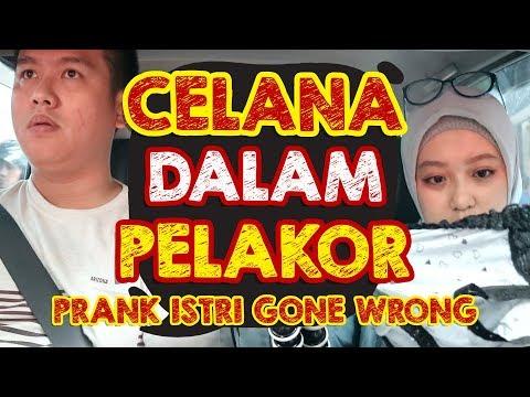 PRANK ISTRI | NEMU CELANA DALAM PELAKOR DIMOBIL (GONE WRONG) #prankindonesia #prankgonewrong