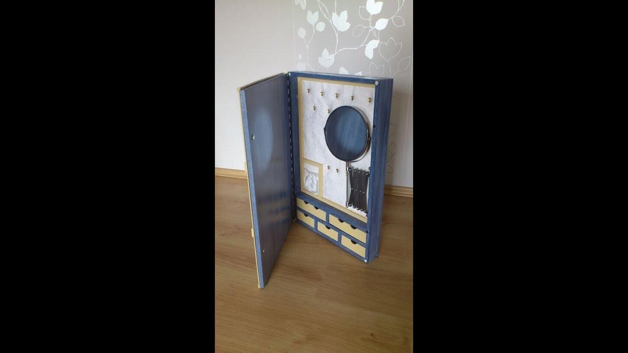 schmuckschrank youtube. Black Bedroom Furniture Sets. Home Design Ideas
