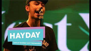 [HD] Hayday - Tunjuk Satu (Live at Kickfest 2017 Yogyakarta, Oktober 2017)