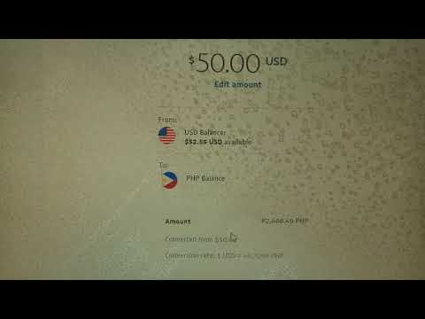 HOW TO CONVERT USD CURRENCY INTO PHP IN PAYPAL ACCOUNT