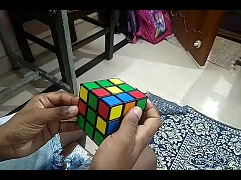 cube solving - tutorial rubik's cube solution - step by step tutorial