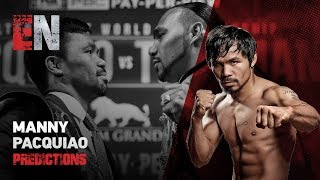 Pacquiao Beats Thurman Says Shane Mosley Mikey Garcia & Rios