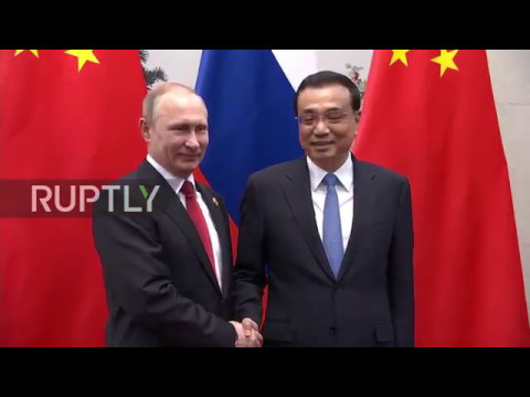 China: Putin applauds Russian-Chinese bilateral ties in meeting with Li Keqiang