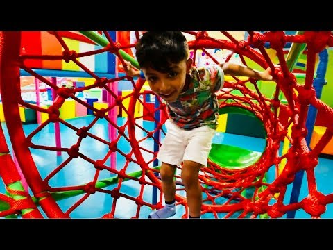 INDOOR PLAYGROUND for Kids. Family Fun Penang, Malaysia