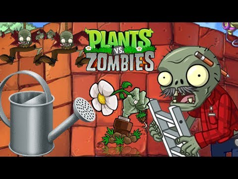 Watering Can | Level 5-5 (Bungee Zombies) // Plants vs Zombies
