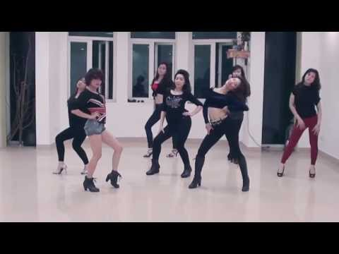 Right Now (Na na) Akon -  Dance routine - Le...