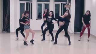 Right Now (Na na) Akon -  Dance routine - Le Cirque Dance studio/Hiphop on heels class
