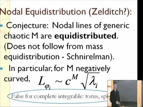 Fluctuations of the Nodal Line Length of Laplace eigenfunctions... - Igor Wigman