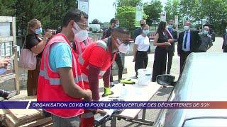 Yvelines | Organisation Covid-19 pour la réouverture des déchetteries de SQY