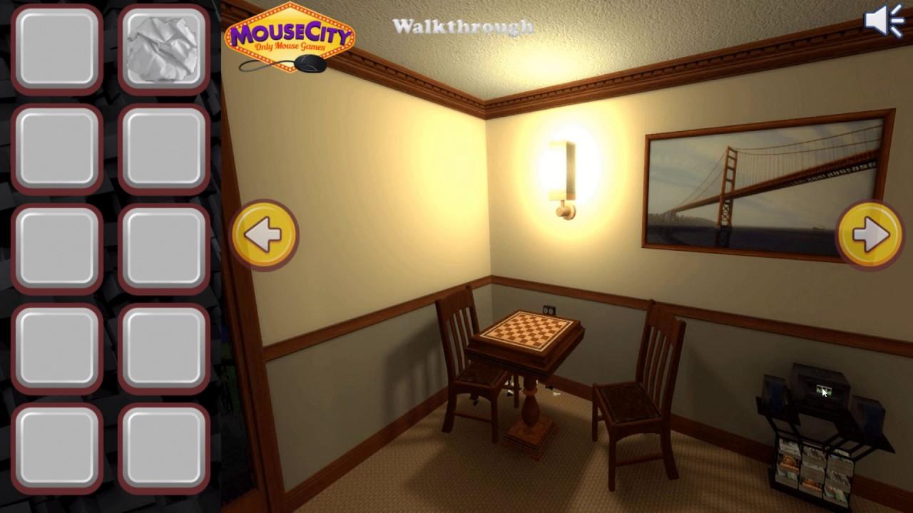 Living room escape walkthrough youtube for Small room escape 9 walkthrough