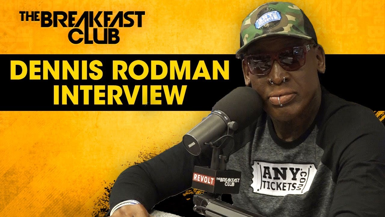 Dennis Rodman Opens Up About His Bad Boy Image, Madonna, Donald Trump, Locker Room Stories + More