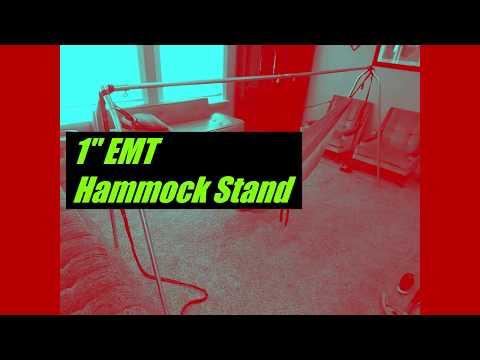 "Hammock Stand: DIY 1"" EMT, Freestanding, portable, 24 lbs._Medium.mp4"