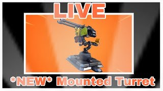 *NEW* Mounted Turret Update | Fortnite | !patch