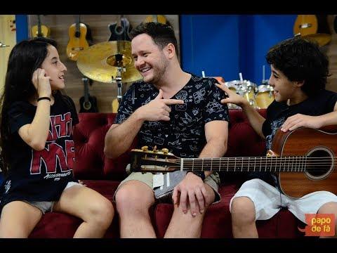 Programa Papo de Fã - Enzo Rabelo canta Meio caminho andado com Duda Rabelo e Thiago