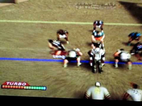 NFL Street 1: NFL Lengends agianst X-cutioners: Larry Csonka with beast interception