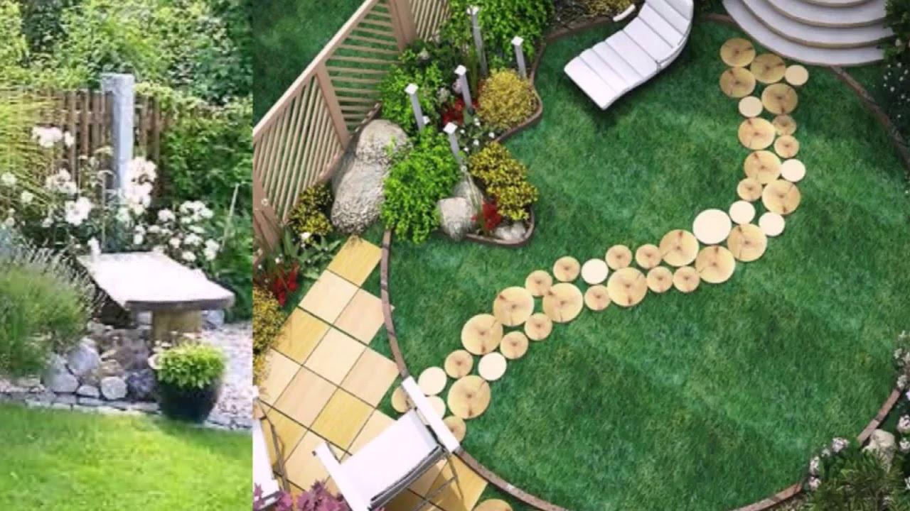 Schöne Garten Gestaltungs Ideen Youtube