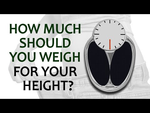 How Much Should You Weigh For Your Height, Gender, And Body Frame Size?