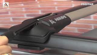 автомобильный багажник на рейлинги Aguri Prestige