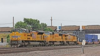 Railfanning Grand Island Nebraska with 2 Over Unders, UP 2010, and Much More!