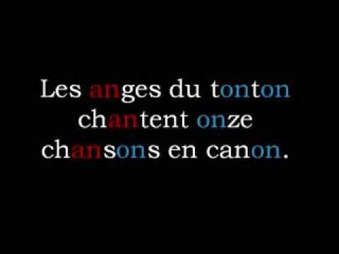 Francais Fle Exercices De Diction Youtube