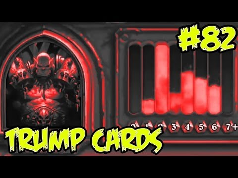 Hearthstone: Trump Cards 82 - CHARGE! Warrior full arena