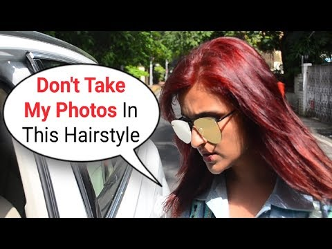 Parineeti Chopra Gets Embarrassed & Refuses To Click Photos In Her New RED HAIR Mp3