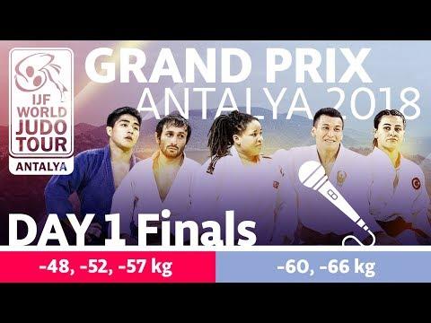 Judo Grand-Prix Antalya 2018: Day 1 - Final Block