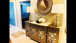 New Furniture Unboxing, Reveal and Decor!!!!!