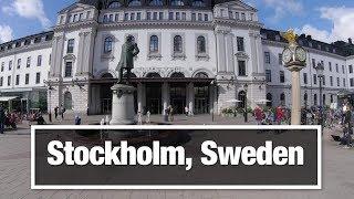 City Walks: Stockholm, Sweden 01  Train Station to Historik Museet