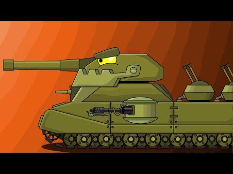 Как Нарисовать Танк Новый Ратте из Мультики про танки