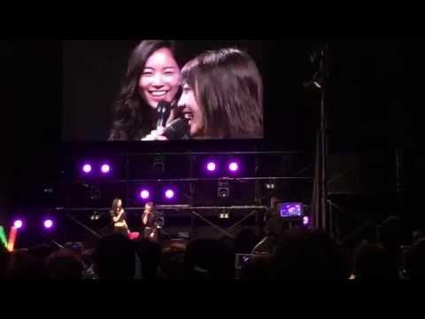 AKB48グループ夏祭り じゅりゆり 木崎ゆりあ×松井珠理奈 最後の挨拶