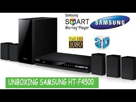 2e2ee4c33 Unboxing Home Theater Blu-ray 3D Samsung HT-F4500 - YouTube
