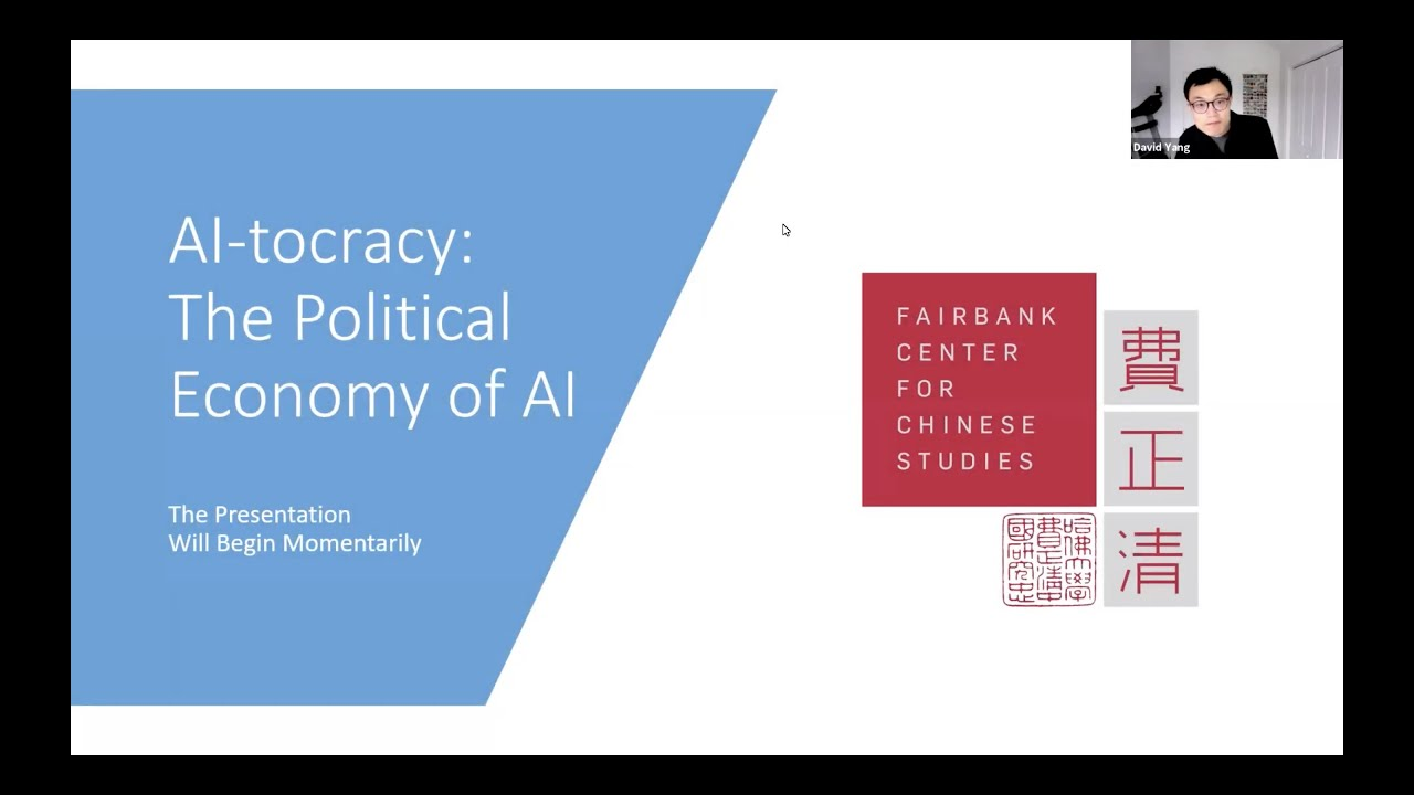 AI-tocracy: The Political Economy of AI, with David Yang