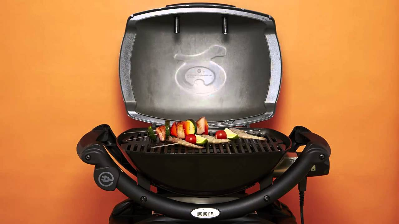 Weber Q1400 Electric Barbecue - YouTube