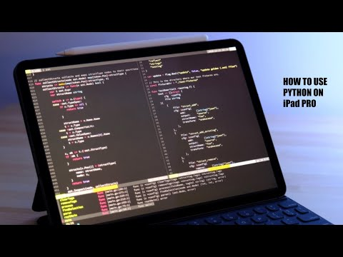 How To Use Python On IPad Pro | Google Colab