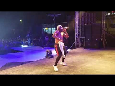 Davido DJ Kaywise Thrill Fans at Mayorkun Concert in Ibadan