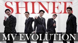 Evolution of: SHINee - Music Videos (2008-2017) [UPDATED]