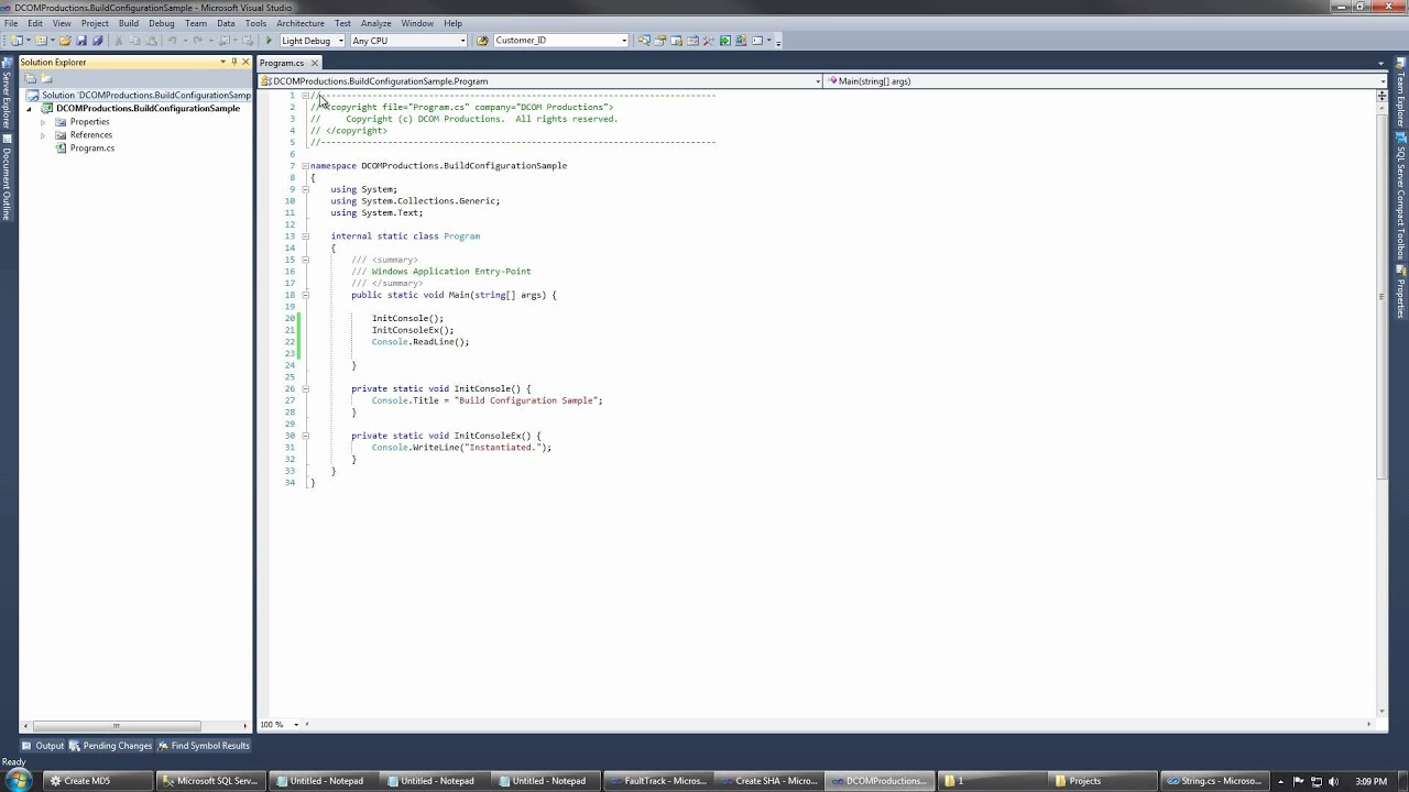 Conditional Lightweight Compilation C Youtube